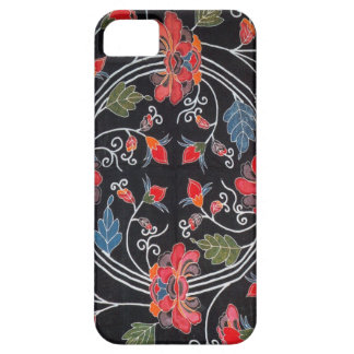 Vintage Japanese Kimono Textile (Bingata) Case For The iPhone 5