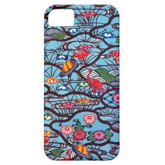 Vintage Japanese Kimono Textile (Bingata) iPhone 5 Case