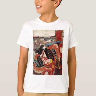 Vintage Japanese Painting - Kabuki Actor T-Shirt