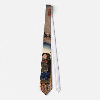 Vintage Japanese Prints Tie