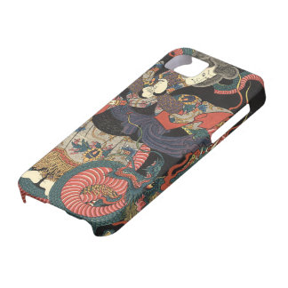 Vintage Japanese Red Dragon iPhone 5 Cover