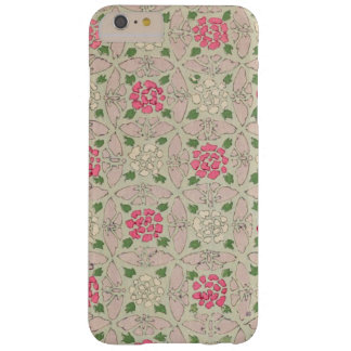 Vintage Japanese Roses Barely There iPhone 6 Plus Case