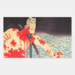 Vintage Japanese Samurai Stickers