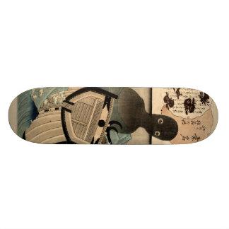 Vintage Japanese Sea Monster 海坊主 国芳 Skate Board Deck