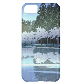 Vintage Japanese Trees on Water Woodblock Art iPhone 5C Case
