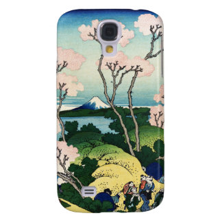 Vintage Japanese View of Mt. Fuji Samsung Galaxy S4 Cover