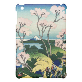 Vintage Japanese View of Mt Fuji iPad Mini Cover