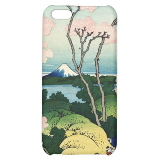 Vintage Japanese View of Mt. Fuji iPhone 5C Cover