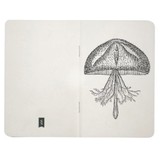 Vintage Jellyfish Antique Jellyfishes Template Journal