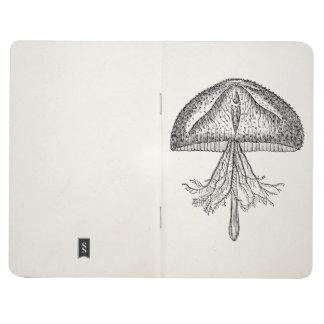 Vintage Jellyfish Antique Jellyfishes Template Journals