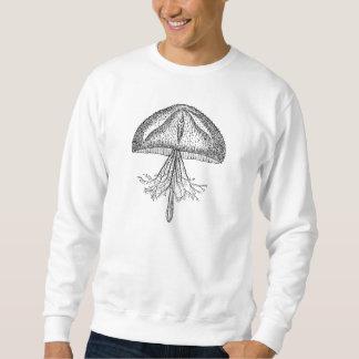 Vintage Jellyfish Antique Jellyfishes Template Sweatshirt