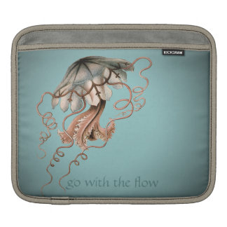 Vintage Jellyfish iPad Sleeve