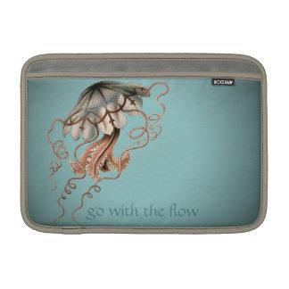 Vintage Jellyfish MacBook Sleeve