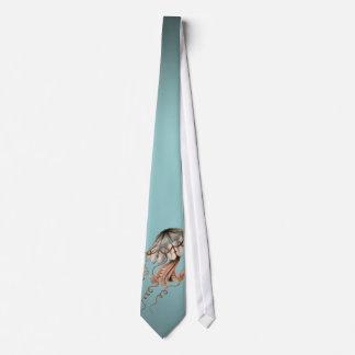 Vintage Jellyfish Tie