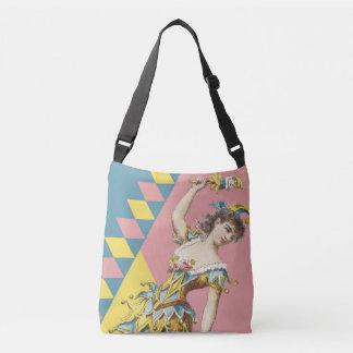 Vintage Jester Cross Over Bag