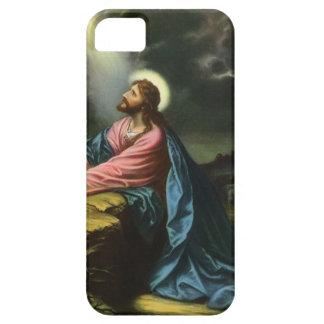 Vintage Jesus Christ Praying in Gethsemane iPhone 5 Cover
