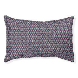 Vintage Jewels Pattern Pet Bed
