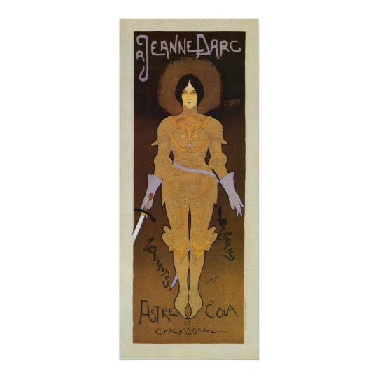 Vintage Joan of Arc store ad vertical banner