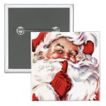 Vintage Jolly Old Santa Shhh