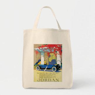 "Vintage Jordan ""Blue Boy"" Ad Canvas Bag"