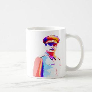 Vintage Joseph Stalin WW2 Russia Dictator Colorful Coffee Mug
