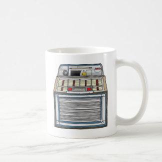 Vintage Jukebox Basic White Mug