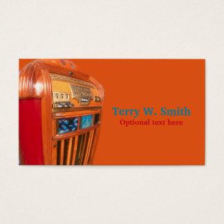 Vintage Jukebox Business Card
