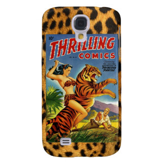 Vintage Jungle Comic Cover