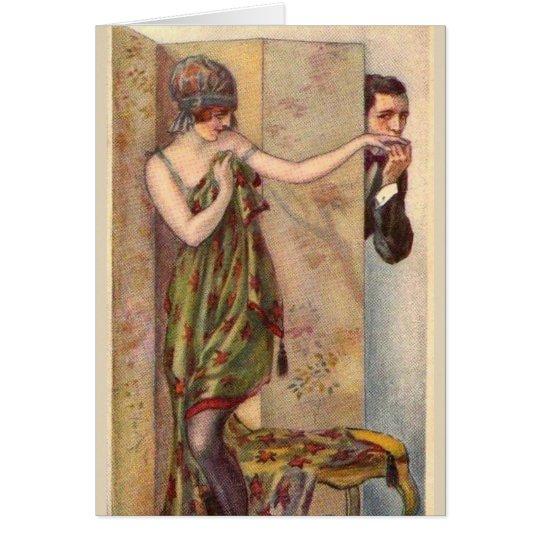 Vintage - Just a Little Peek!, Card