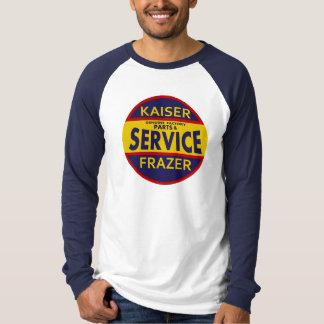 Vintage Kaiser Frazer service sign red/blue Tees