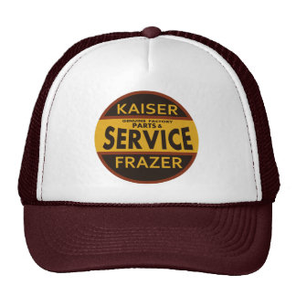 Vintage Kaiser Frazer service sign Trucker Hats