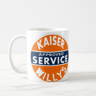 Vintage Kaiser Willys service sign Mugs
