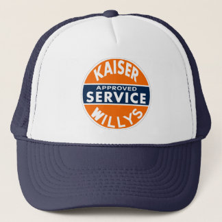 Vintage Kaiser Willys service sign Trucker Hat