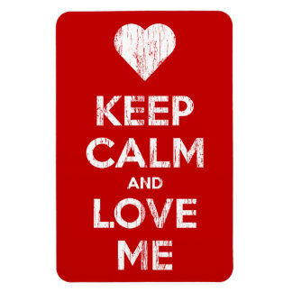 Vintage Keep Calm And Love Me Magnet