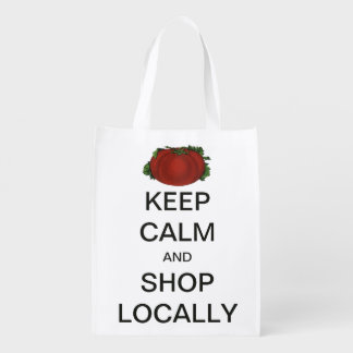 Vintage Keep Calm and Shop Locally