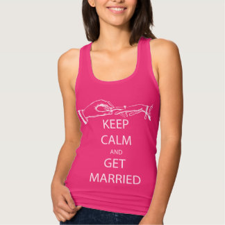 Vintage KEEP CALM  GET MARRIED T Shirts