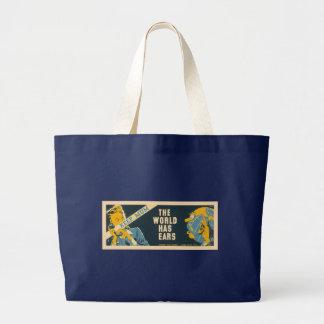 """Vintage """"Keep Mum"""" bags - choose style"""