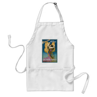 Vintage Kellar s The Golden Butterfly Aprons