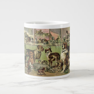 Vintage Kennel Dogs Club Jumbo Mug