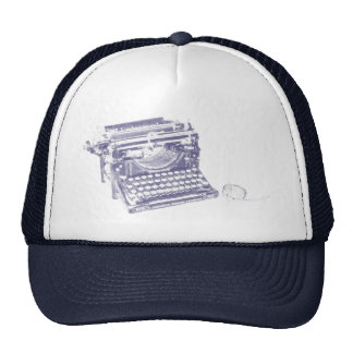 Vintage keyboard and mouse hat
