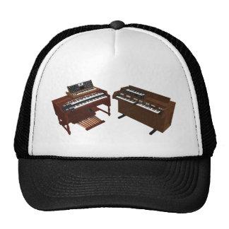 Vintage Keyboards 3D Model Mesh Hat
