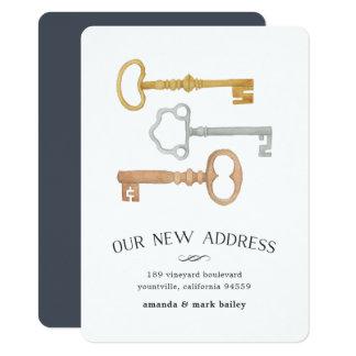 Vintage Keys | Moving Announcement