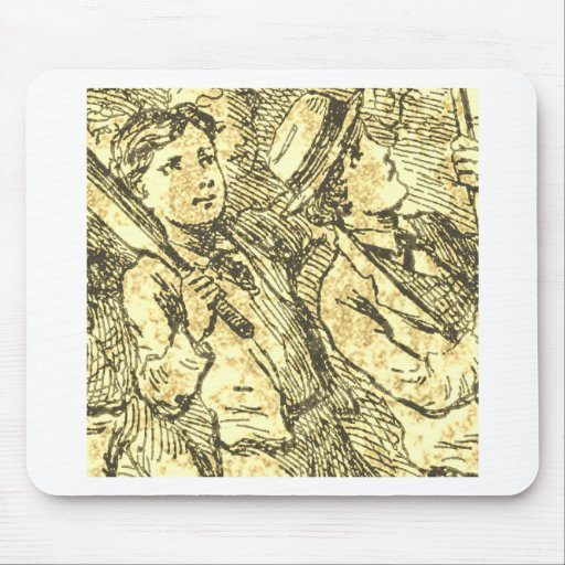 Vintage Kids Playing Mouse Pads