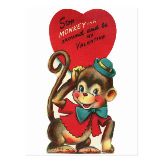 vintage kids valentine postcards