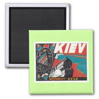 Vintage Kiev Ukraine Magnet