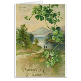 Vintage Killarney St. Patrick's Day Card