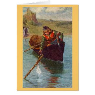 Vintage - King Arthur - Excalibur Returned Card
