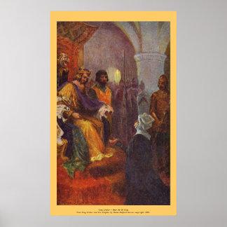 Vintage - King Arthur - Hear Me Oh King Print