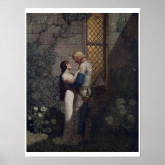 Vintage King Arthur Series 2 Art Print Poster