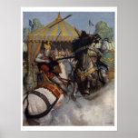 Vintage King Arthur Series 6 Art Print Poster